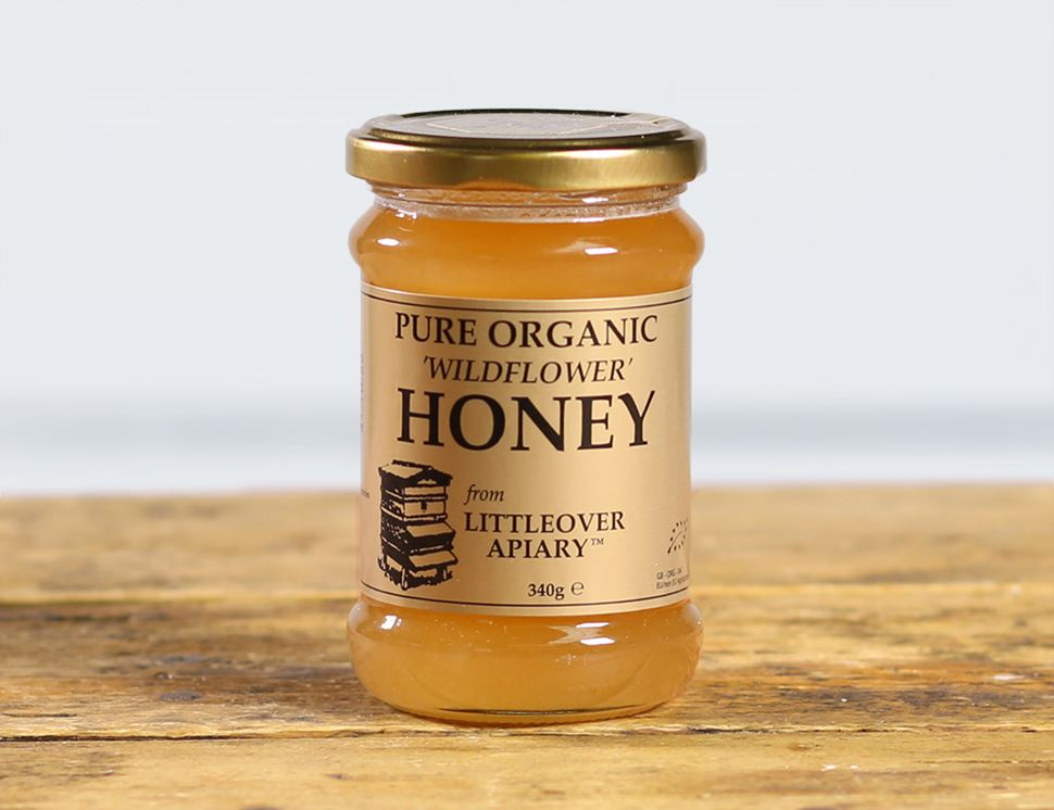 Wildflower Honey, Organic, Littleover Apiary (340g)