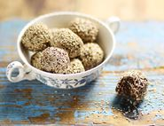 Date, Walnut & Sesame Chia Bliss Balls