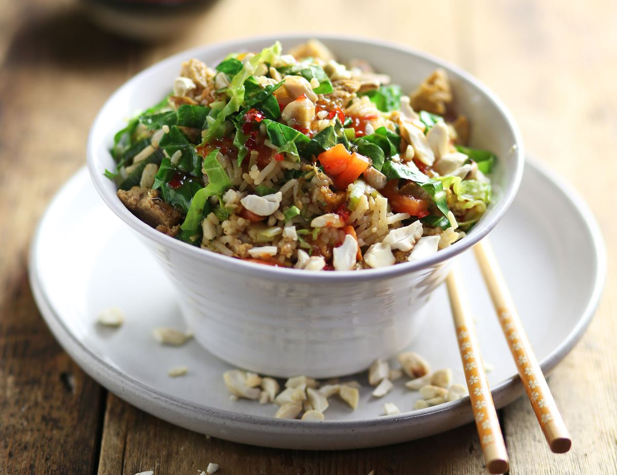 Special Fried Rice with Toasted Cashews