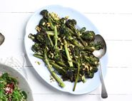 Balsamic Roast Purple Sprouting Broccoli