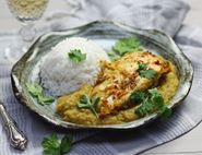 Roasted Bramley Chicken Curry