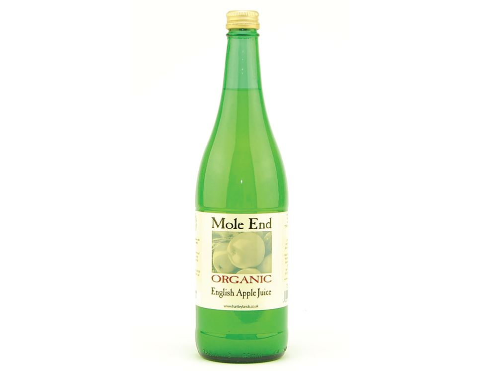 English Apple Juice, Organic, Mole End  (75cl)