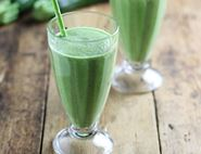 Iced Coconut & Courgette Smoothie