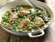 Turkish Chicken & Date Casserole