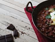 Venison Chocolate Chilli