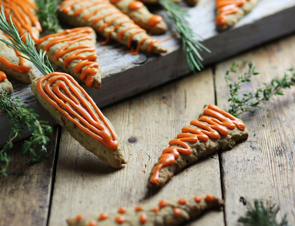 Rudolph's Carrot Cookies