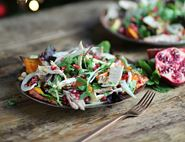 Zingy Turkey, Citrus & Pomegranate Salad