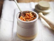 Carrot & Ginger Kraut