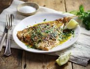 Cajun-Crusted Fish with Lemon Butter