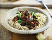 Moroccan Beef Couscous