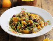Chicken Tagine with Orange & Honey