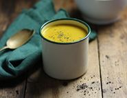 Carrot, Coconut & Turmeric Soup