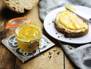 Blood Orange & Saffron Curd