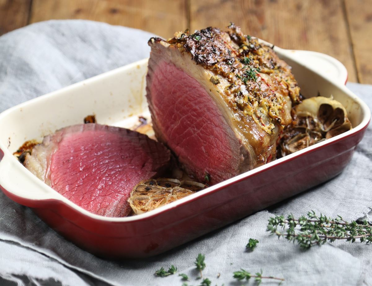 Topside with Thyme & Dijon Crust