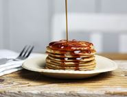 Coconut Silver Dollar Pancakes