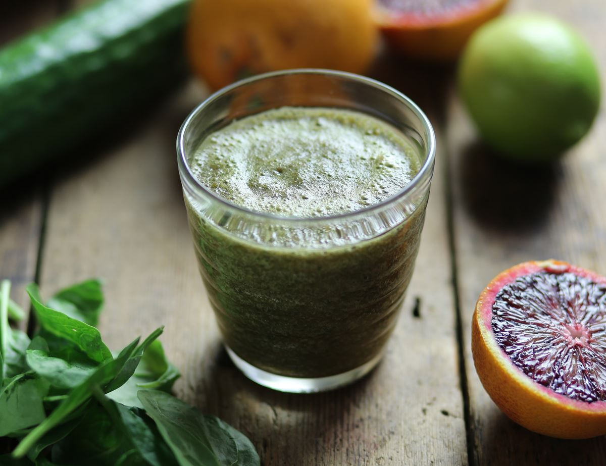 Great Greens & Grapefruit Smooothie