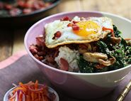 Bacon & Duck Egg Bi Bim Bap