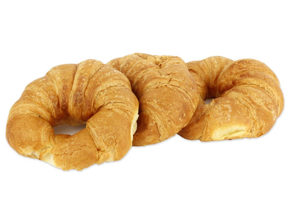 Croissants, all butter, Organic, Authentic Bread Co. (250g, pack of 3)