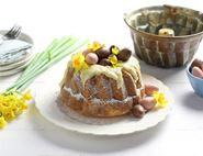 Lemon, Cardamom & Olive Oil Bundt Cake