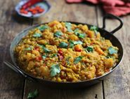 Squash, Sweet Potato & Lentil Curry