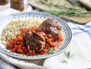 Pork Medallions with Red Pepper Sauce