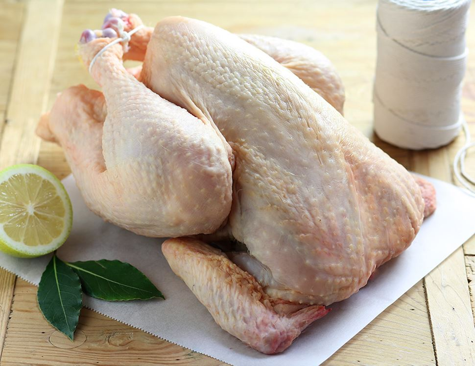 Chicken, Whole, with Giblets, Organic (1.4kg)