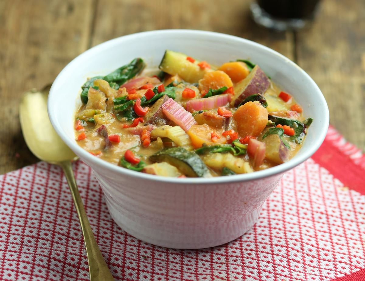 Sweet Potato & Peanut Hot Pot