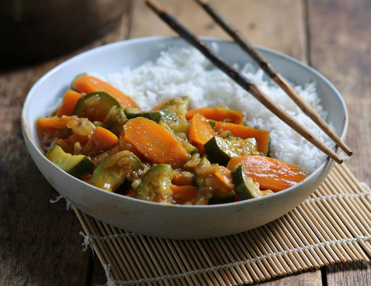 Japanese Sweet & Spicy Vegetable Curry