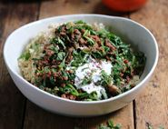 Turkish Spiced Mince & Couscous