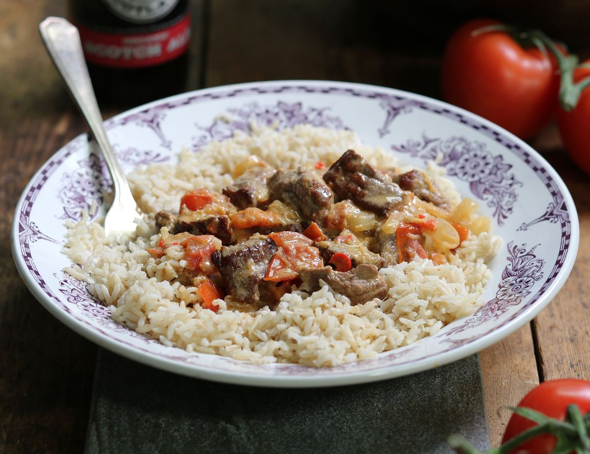 Tamarind & Coconut Beef Curry