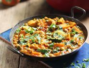 Moroccan Chickpea & Vegetable Tagine