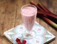 Rhubarb Bakewell Crush Smoothie