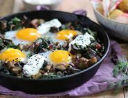 Turkish Baked Duck Eggs