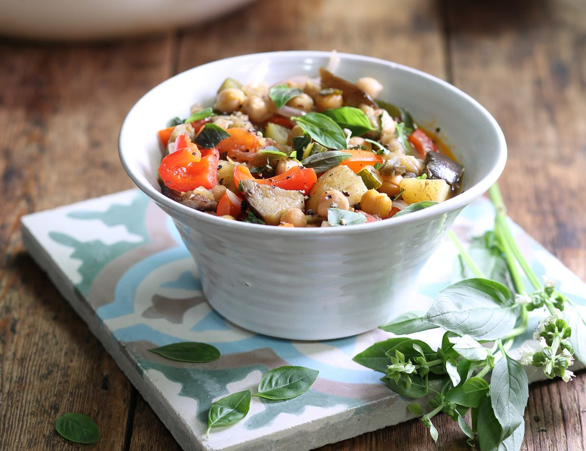 Tuscan Summer Vegetable Stew