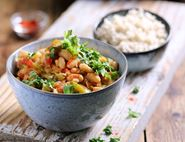 White Bean Chilli with Smoky Spices