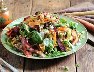 French Rainbow Carrot Salad
