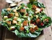 Halloumi & Lime Scoop Salad