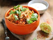 Mexican Chicken & Rice One Pot