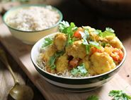 Creamy Coconut, Cauliflower & Lentil Curry