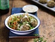 Courgette, Buckwheat & Butter Bean Falafels
