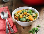 Spinach, Chickpea & Coconut Curry