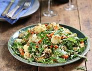 Roast Cauliflower, Tahini & Date Salad