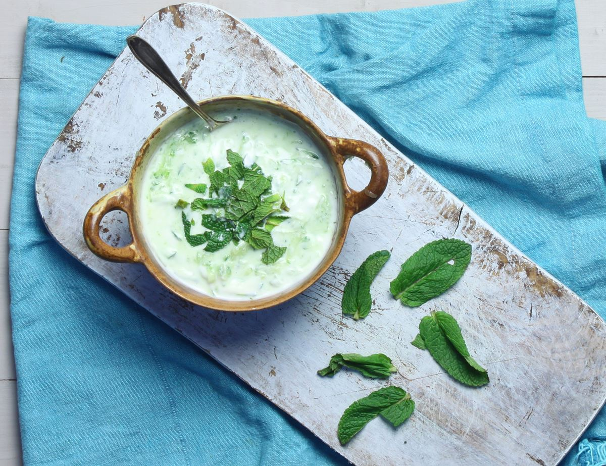 Refreshing Raita