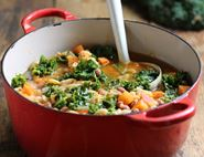 Spiced Bean & Kale Stew