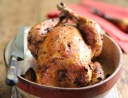 Spice Rubbed Roast Chicken