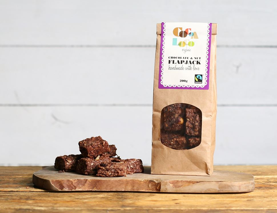 Nutty Chocolate Flapjack Mini Bites, Organic, Cocoa Loco (200g)