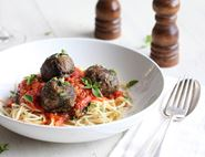 Aubergine No-Meat Meatballs
