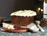 Ginger Cake with Whisky Icing
