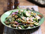 Italian Roasted Sprout & Parsnip Salad
