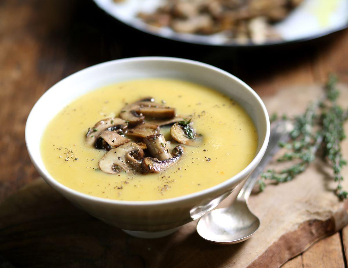 Jerusalem Artichoke Mushroom Soup Recipe Abel Cole